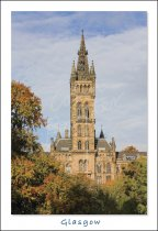 University of Glasgow, Glasgow Postcard (V Std CB)