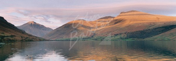 Great Gable, Sca Fell & Scafell Pike, Lake District Postcard (H