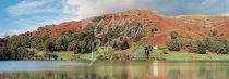 Loughrigg Fell & Tarn, Lake District Postcard (H Pan CB)