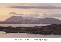Cuillin Hills beyond Sleat, Isle of Skye Postcard (H Std CB)