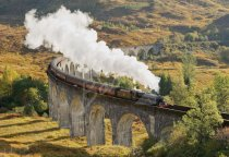 Glenfinnan Viaduct, West Highlands 1 Postcard (H Std CB)