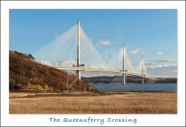 Queensferry Crossing & Firth of Forth Postcard (H Std CB)