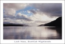 Loch Ness, Highlands Postcard (H Std CB)
