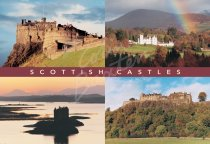 Scottish Castles Comp 2 Postcard (H Std CB)
