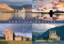 Scottish Castles Comp 1 Postcard (H Std CB)