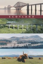 Scotland Panorama Comp 2 Postcard (V Std CB)