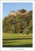 Stirling Castle Postcard (V Std CB)