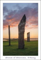 Stones of Stenness, Mainland, Orkney Postcard (V Std CB)