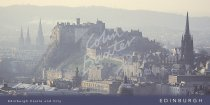 Edinburgh from Salisbury Crags Postcard (H Vis CB)