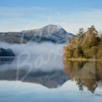 Ben Lomond across Loch Ard Greetings Card (CB)