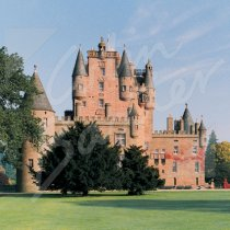 Glamis Castle, Angus Greetings Card (CB)