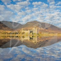 Kilchurn Castle, Loch Awe Greetings Card (CB)