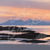 Rum from near Arisaig Greetings Card (CB)