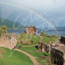 Urquhart Castle Greetings Card (CB)
