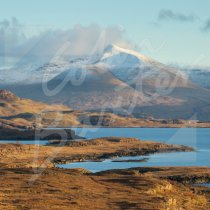Ben More, Isle of Mull Greetings Card (CB)