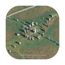 Calanais Standing Stones from air Coaster