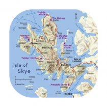 Isle of Skye Map Coaster