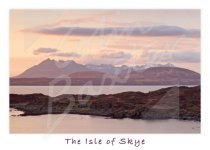 Cuillin Hills from Sleat, Isle of Skye Magnet (H CB)