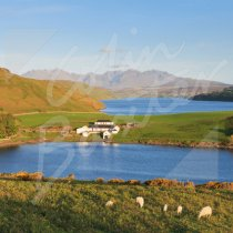 Cuillin Hills & Loch Harport Greetings Card (CB)
