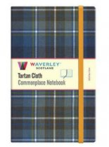 Tartan Cloth Notebook Large: Holyrood