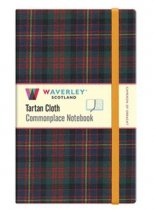 Tartan Cloth Notebook Large: Cameron of Erracht