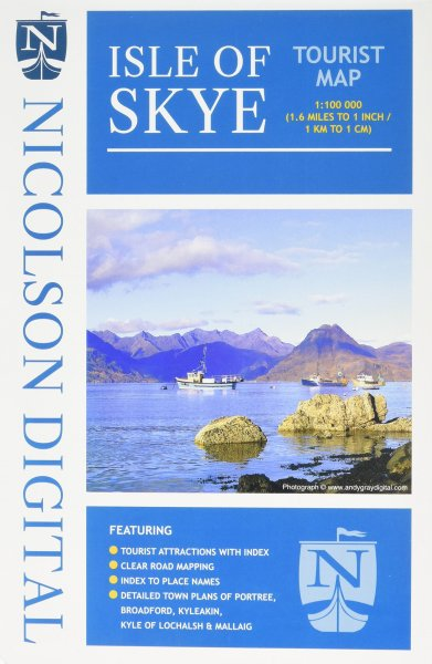 Isle of Skye Tourist Map