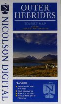 Outer Hebrides Tourist Map