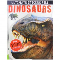 Ultimate Sticker File Dinosaurs (Make Believe) (Sep)