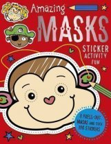 Amazing Masks Sticker Activity