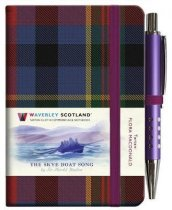 Tartan Cloth Notebook Mini: Skye Boat Song (Jan)