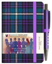 Tartan Cloth Notebook Mini: Auld Lang Syne (Jan