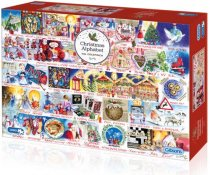 Jigsaw Christmas Alphabet 1000pc (Nov)