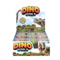 Dino World Super Stretchy Putty (RRP £2.99) (DPU12)(Feb)