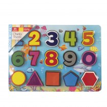 Wood Works Numbers Chunky Puzzle (RRP £7.99v)(Mar)