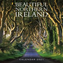 2021 Calendar Beautiful Northern Ireland (2 for £6v) (Mar)