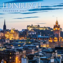 2021 Calendar Edinburgh (2 for £6v) (Mar)