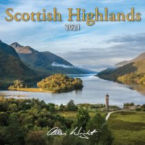2021 Calendar Scottish Highlands (Mar)