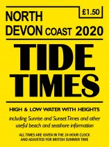 Tide Times: North Devon Coast, Ilfracombe (Mar)