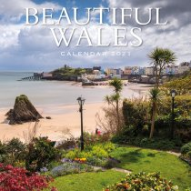 2021 Calendar Beautiful Wales (2 for £6v) (Mar)