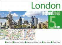 London PopOut 5 Map