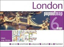 London PopOut Triple 6 Map