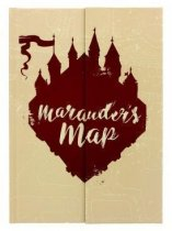 Harry Potter Maurauders Map Notebook (Mar)