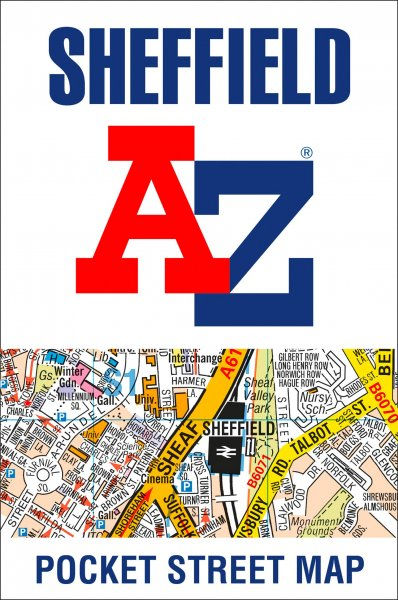 Sheffield Pocket Street Map (Mar)
