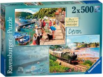 Jigsaw Picturesque Devon 2x500pc (Apr)