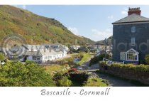 Boscastle Postcard, Cornwall (H A6 LY)
