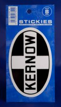 Kernow Flag Oval Stickies