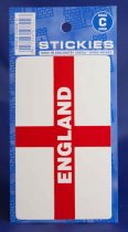 England St George Flag Rectangle Stickies