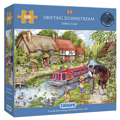 Jigsaw Drifting Downstream 500pc