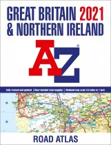 Great Britain Road Atlas 2021 A3