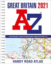 Great Britain Road Atlas 2021 Handy A5 spiral